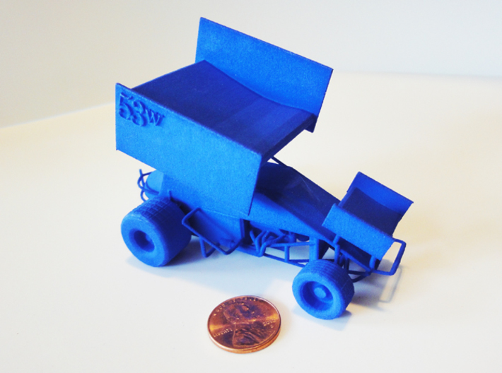 Sprint Car 1/43 Scale 3d printed Actual model contains no numbers
