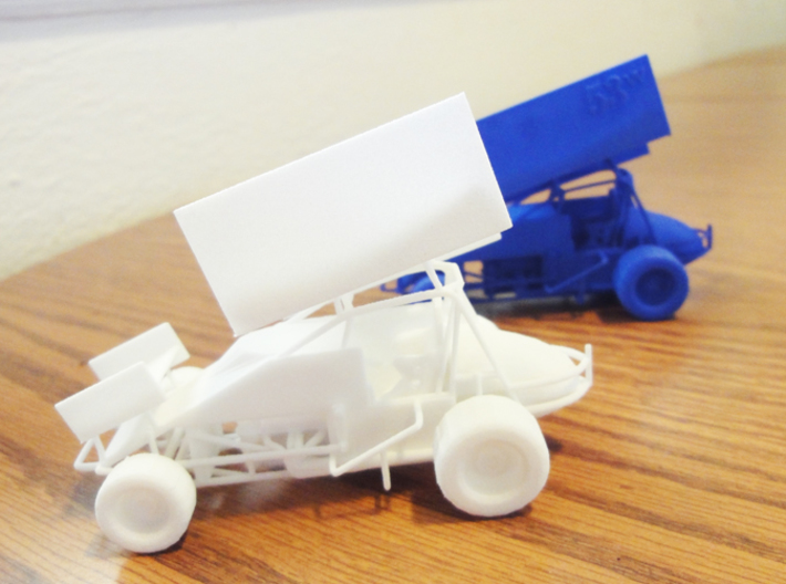 Sprint Car 1/43 Scale 3d printed