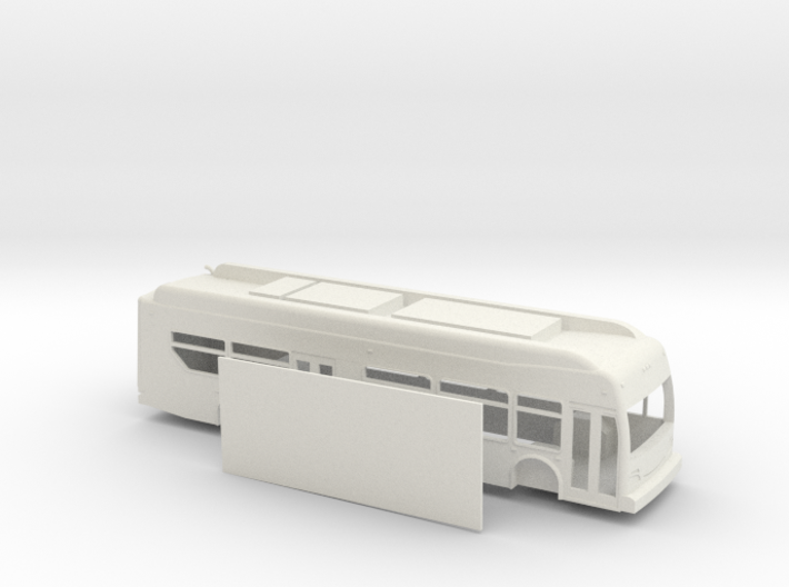 HO scale new flyer xcelsior hybrid bus 3d printed