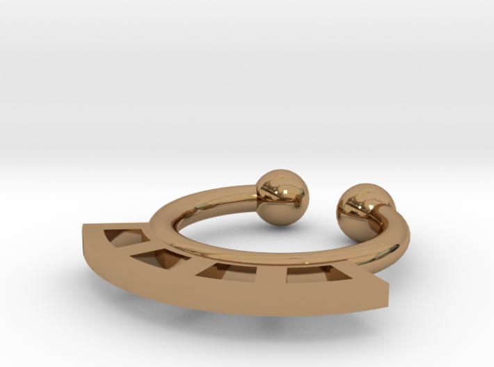 Septum Ring Test 3d printed