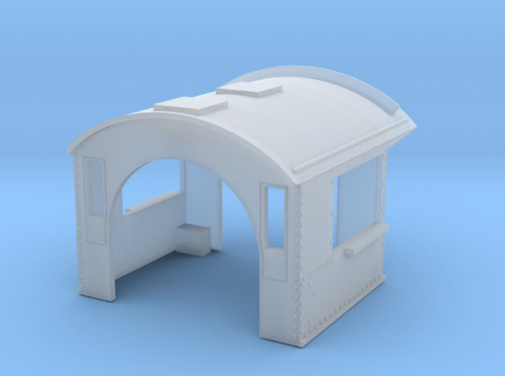 GTW CAB 3d printed