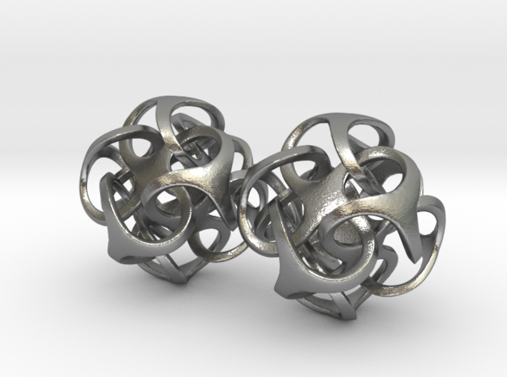 Metatron 24mm Earring Pair 3d printed
