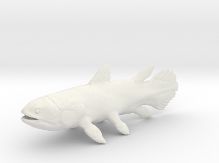 Coelacanth 3d printed