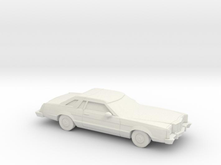 1/87 1977-79 Mercury Cougar XR 7 3d printed