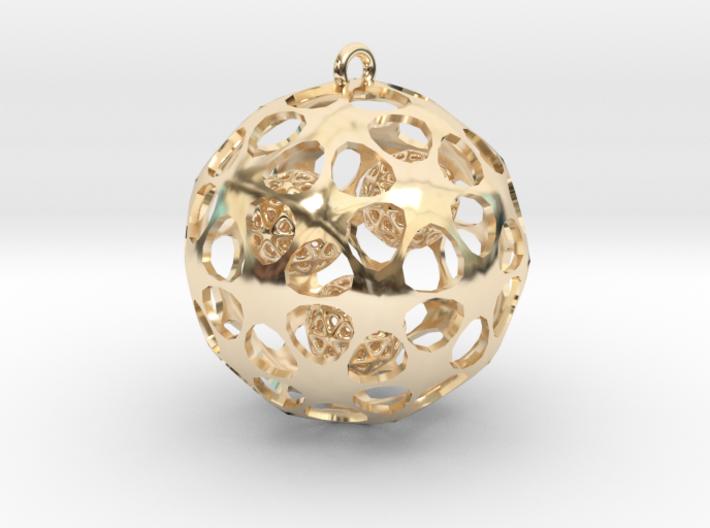 Hadron Ball - 5cm 3d printed