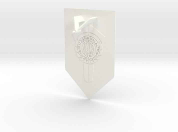 Battlestar Galactica Display v1 (Models to 1/64) 3d printed