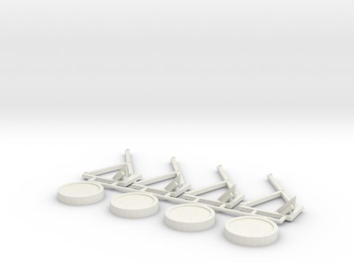 Bungee Trampolin 2.0 - 1:160 (N scale) 3d printed