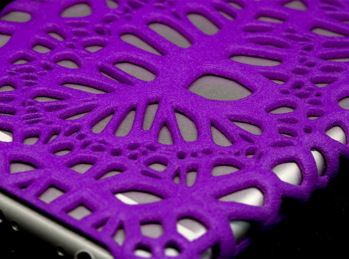 iPhone6 Case Infinity (Extreme Voronoi Edition) 3d printed