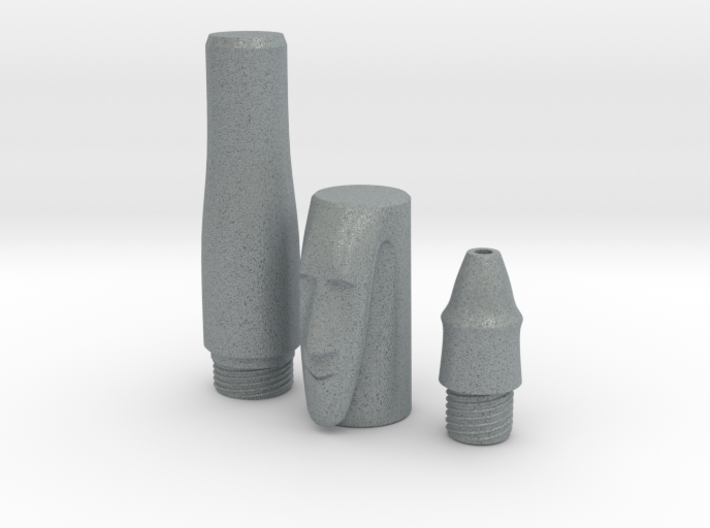 Stone Mask Rollerball Mini Components 3d printed