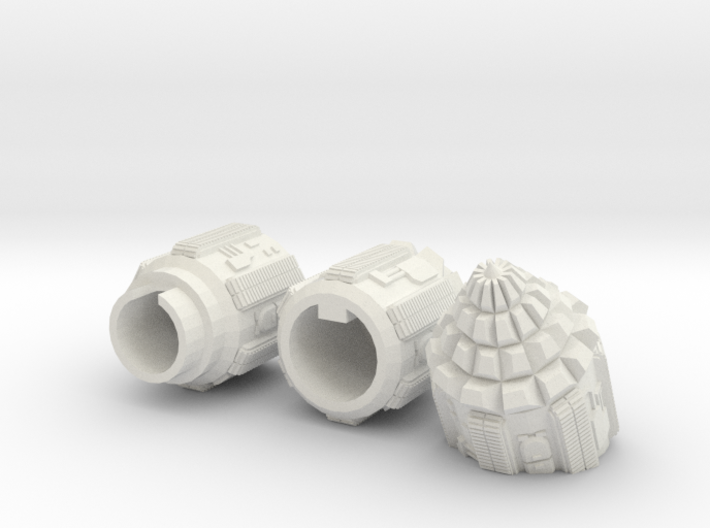 "6mm Space Dwarf ""Vole"" Tunneling Assault Vehicle 3d printed"