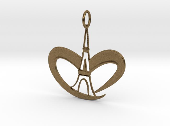 Love Paris - Eiffel Tower 3d printed