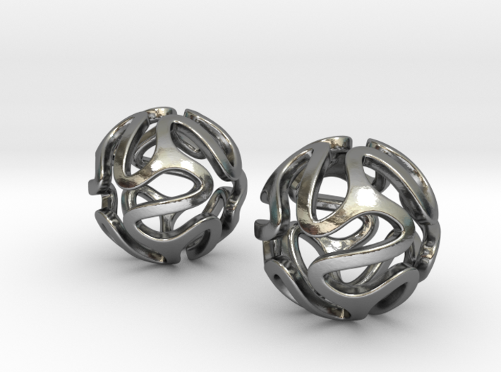 iFTBL Ola Wave / Earrings 3d printed