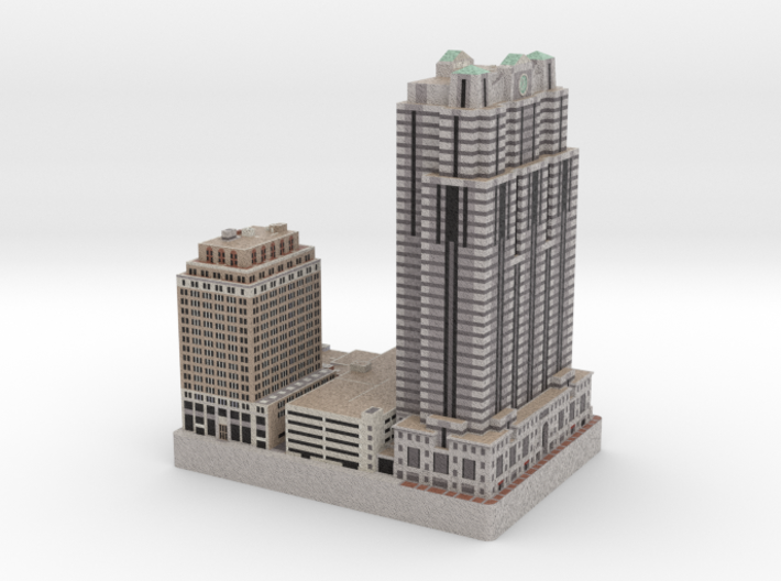 Two Logan Square - Philadelphia, PA 3d printed