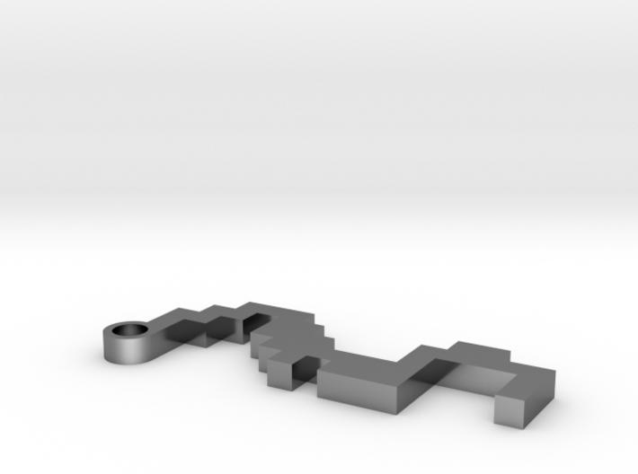 Maze Pendant 5 3d printed