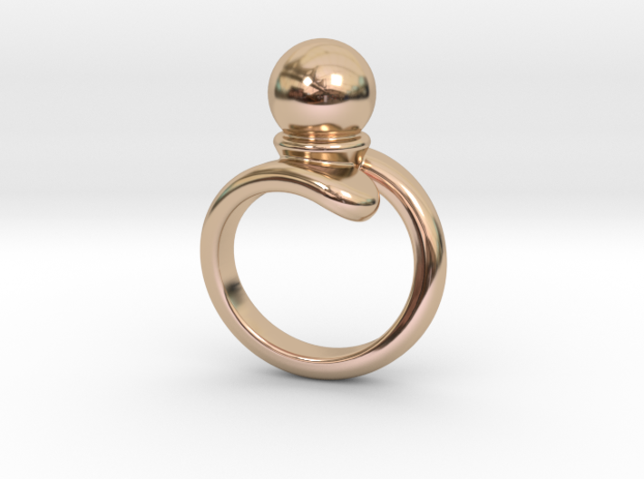 Fine Ring 24 - Italian Size 24 3d printed