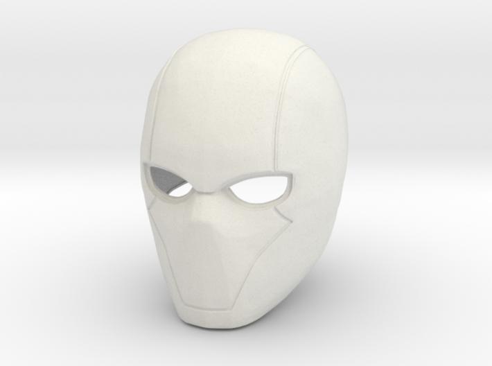 Red Hood helmet V5 3d printed