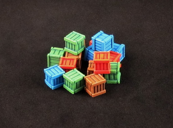 Artifacts Inc. Museum Markers (16 pcs) 3d printed Hand-painted White Strong Flexible