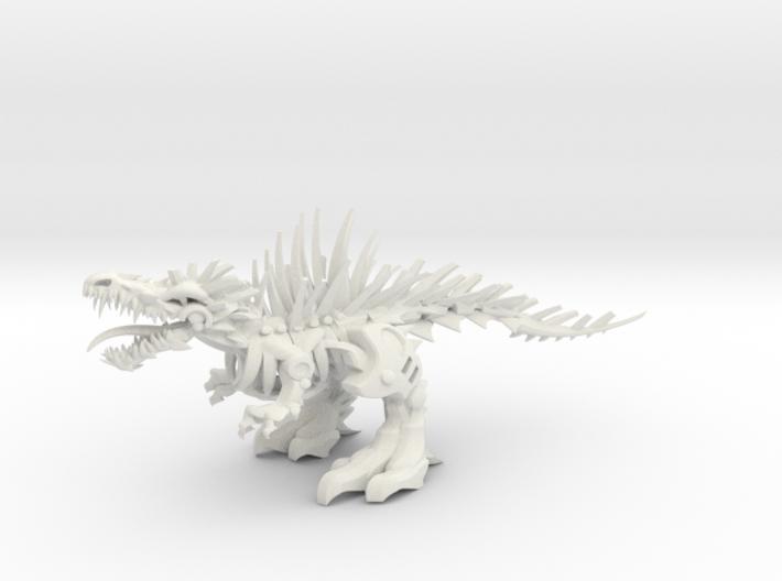 """Raptor V2-3  (100% 16cm - 6.32"""") 3d printed"""