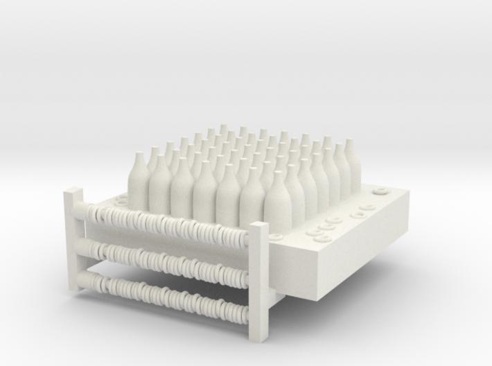 Bottlejointlarger Fixed 3d printed