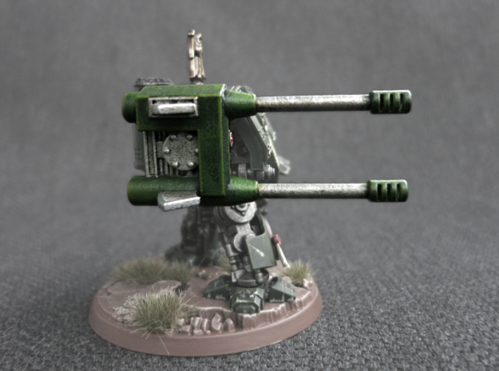 Autocannon Right 3d printed Model not supplied painted