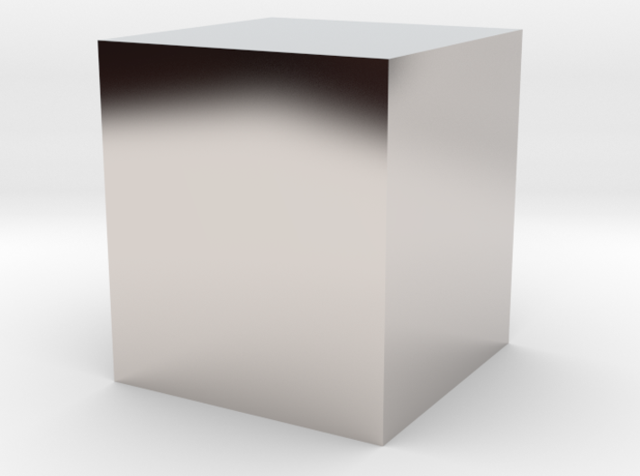 Platinum Cuboid 3d printed