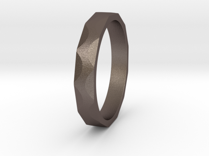 Iron Ring Size 6.75 3d printed