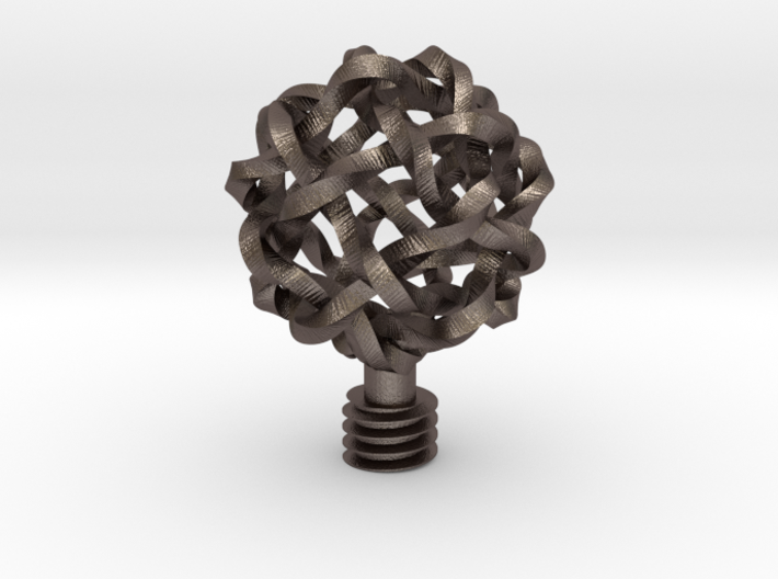 Wine Stopper Knot Ball 3d printed