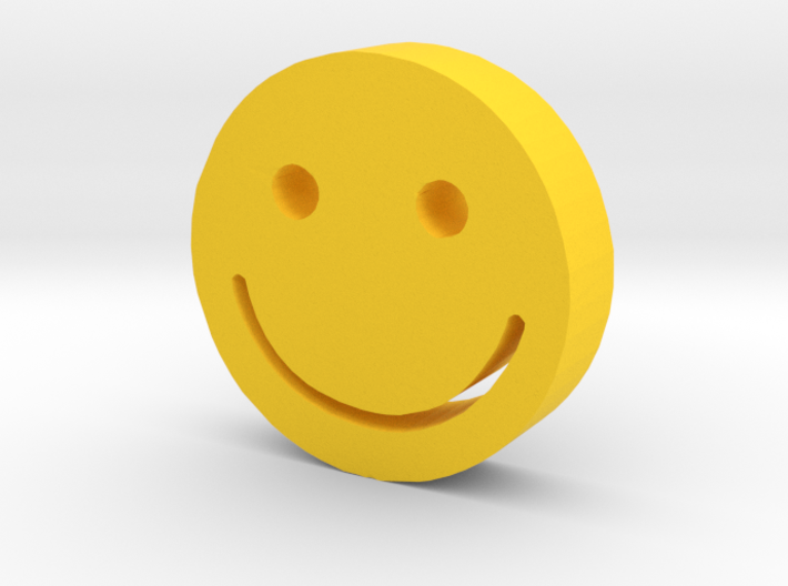Smiley 3d printed