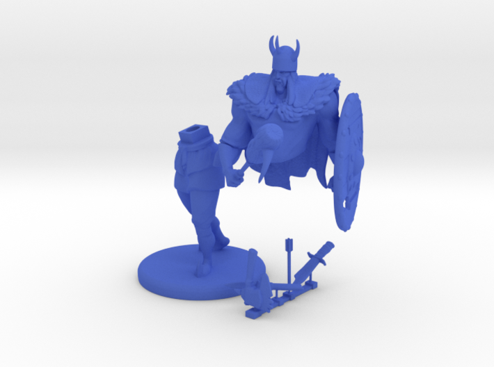 "Gagoism™ ""Viking Knight"" 3d printed"