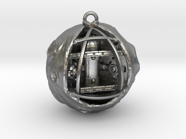 Moon is a spaceship 3d printed