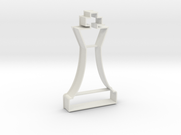 Cookie Cutter - Chess Piece King 3d printed