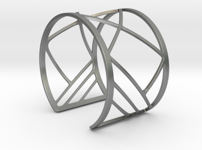 Subgeometric 1_Large 3d printed