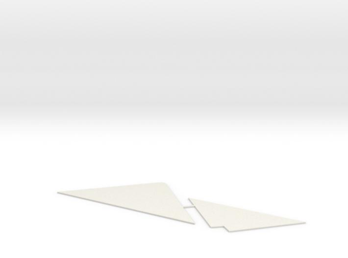 AML 3 Bay Hopper Gap Filling Templates 1:29 scale 3d printed