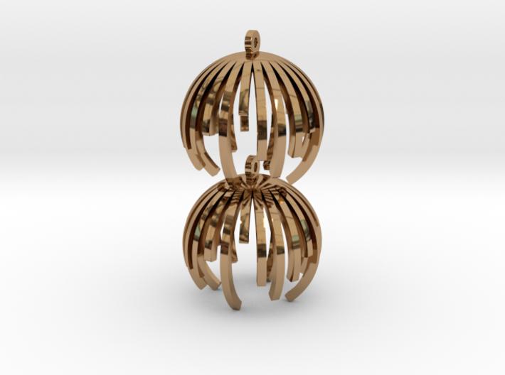 TIME - earrings 3d printed