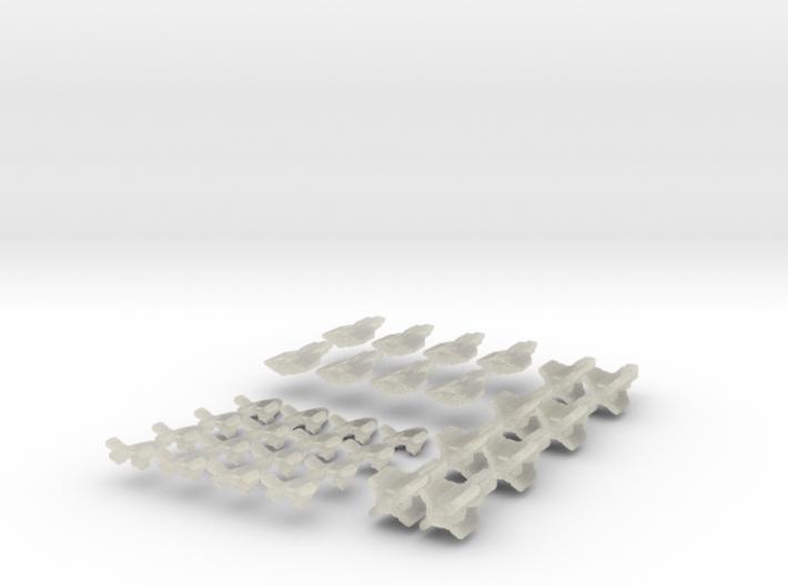 FighterCFED Set 2 3d printed