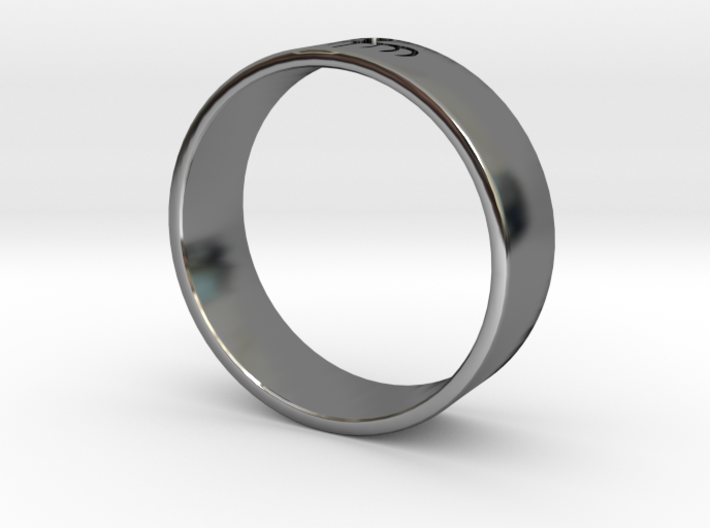 James Bond: Spectre Ring - Size 12 3d printed