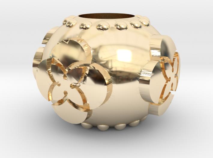 TU Pandora Bead 3d printed