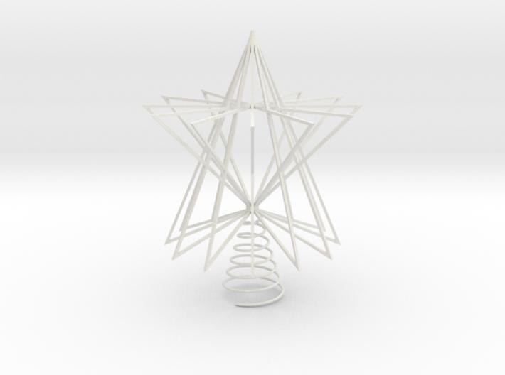 Christmas Tree Star 3d printed