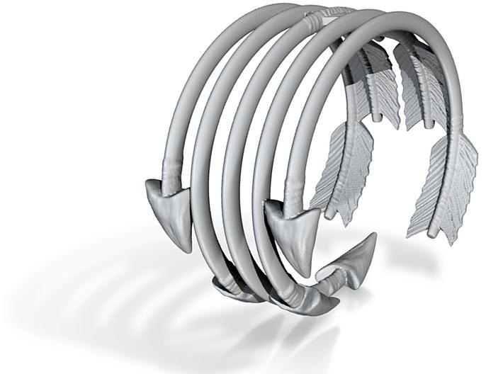 Quiver of Arrows Bracelet 3d printed