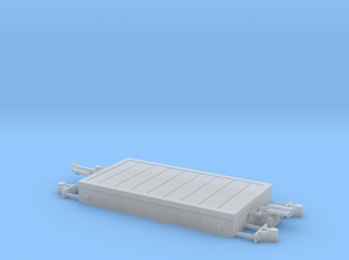 1:24 Heywood Platform Wagon w/ Light Axleboxes 3d printed