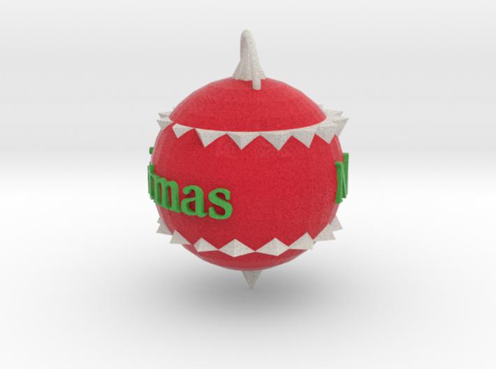 Christmas Ornament 3d printed