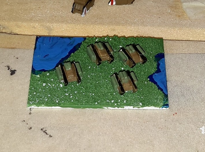 British Land Ironclad Contraptions 3d printed