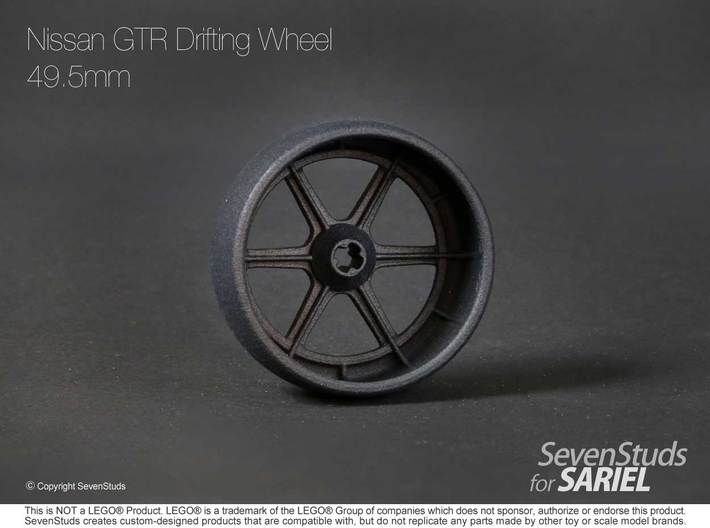 Drifting Wheel 49.5mm 3d printed