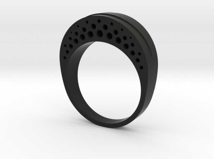 Evaporation Ring - US Size 06 3d printed