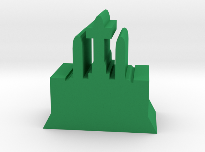 Game Piece, Galactic Temple 3d printed