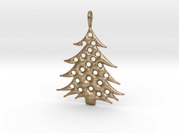 Christmas Tree Pendant 5 3d printed