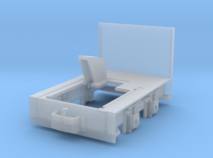 Diema DL6 Rahmen 1:22,5, Spurweite 26,7mm 3d printed