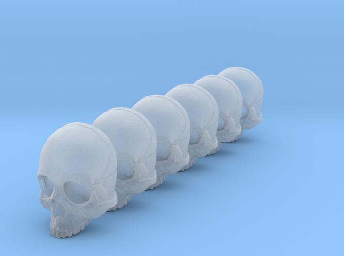 Bsi-skull-human-05mm-nojaw 023 3d printed