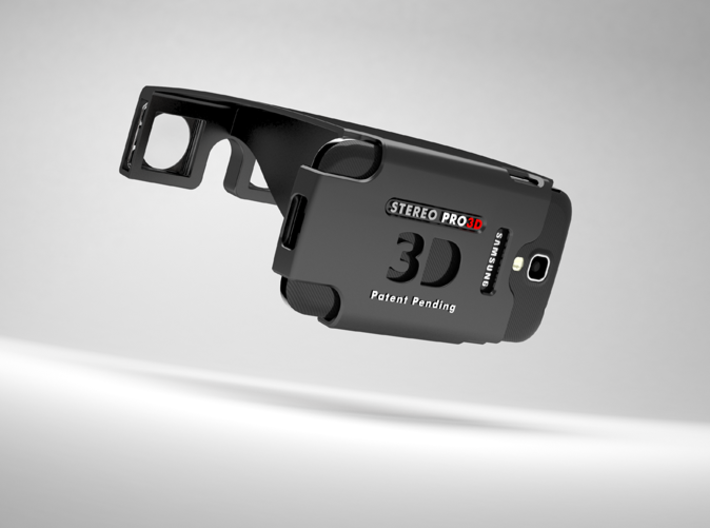 Samsung Galaxy S4 Stereoscopic 3d printed