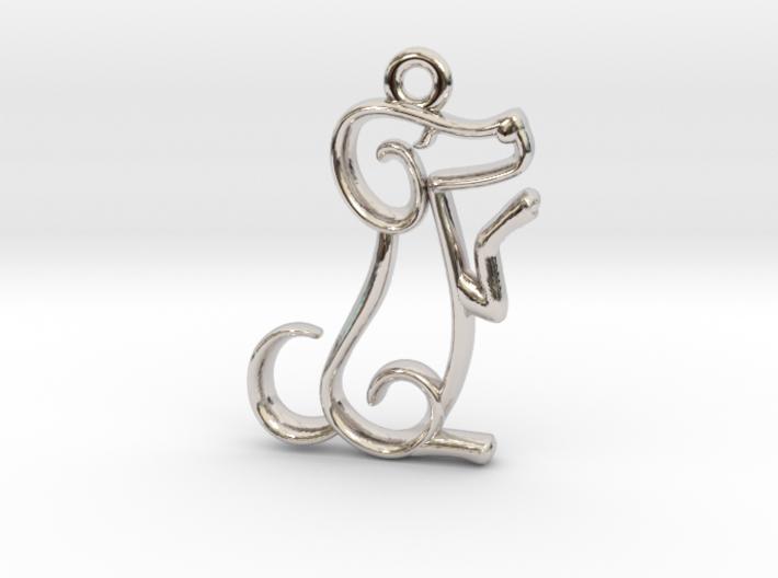 Tiny Dog Charm 3d printed